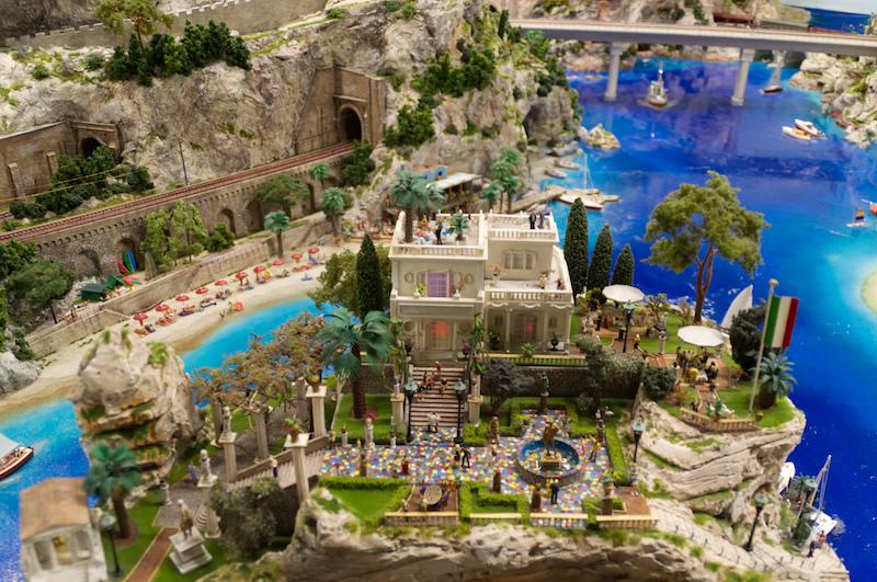 Villa am Meer im Miniaturwunderland