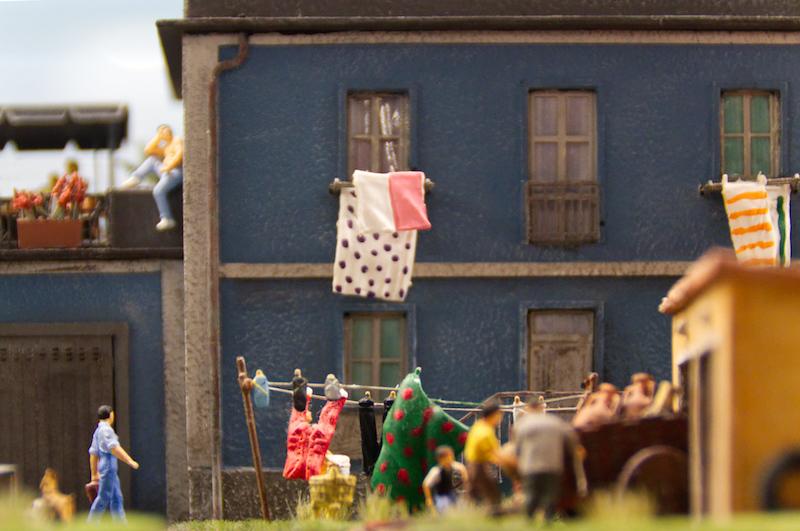 Italienische Szene im Miniaturwunderland