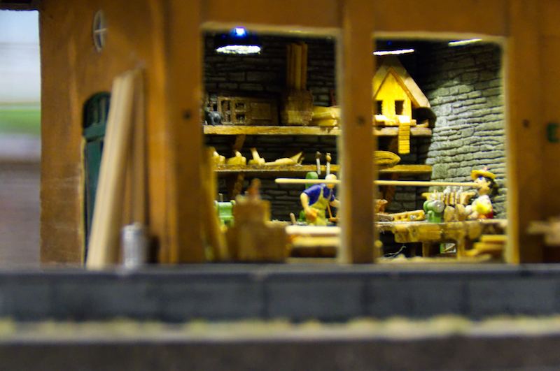 Pinocchio im Miniaturwunderland