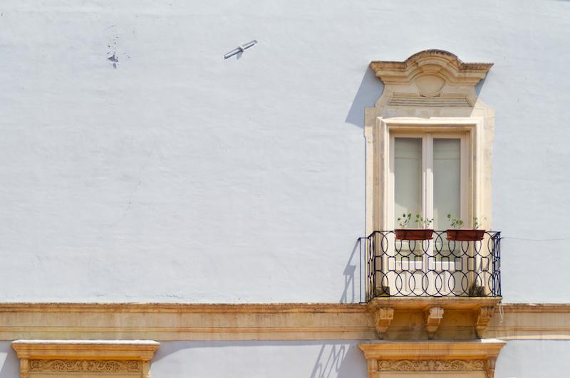 Fassade in Adrano