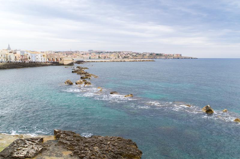 Der alte Hafen von Syrakus