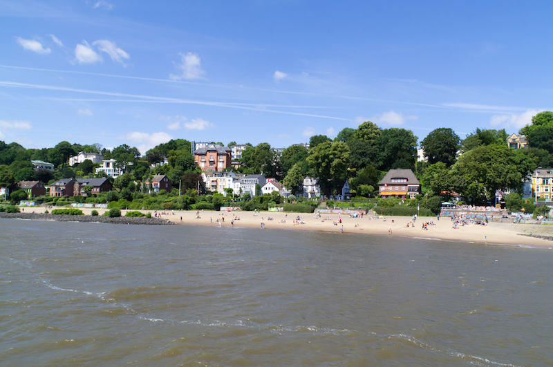 Elbstrand in Hamburg
