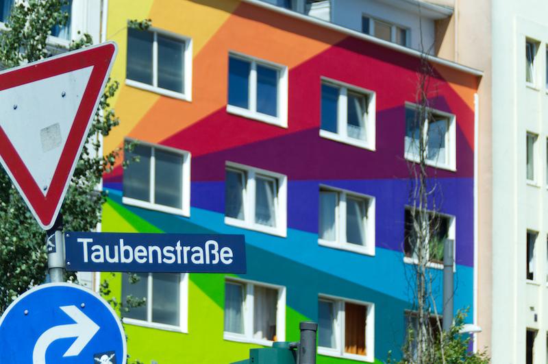 Buntes Haus in St. Pauli
