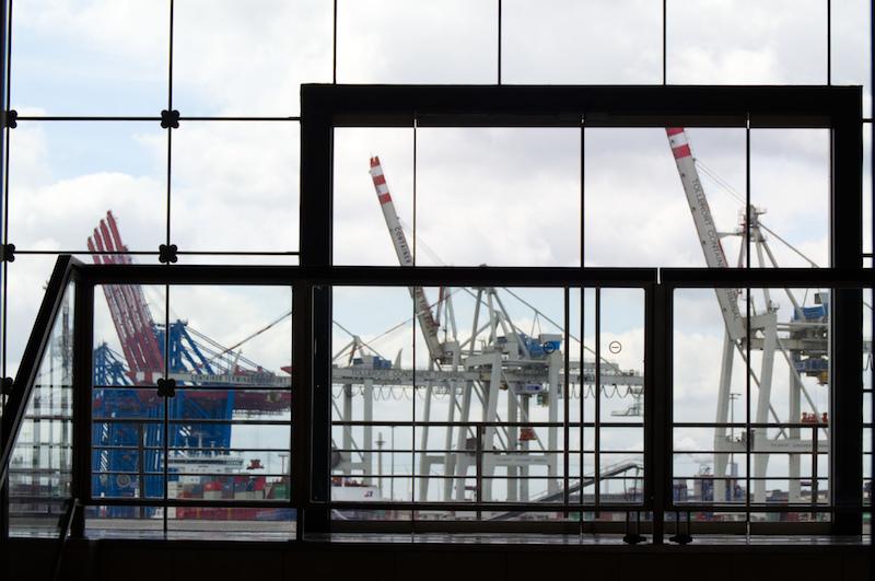 Hafenkräne in Hamburg
