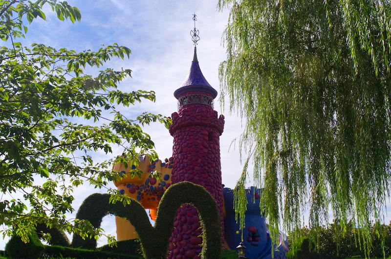 Das Alice im Wunderland Schloss im Disneyland Paris