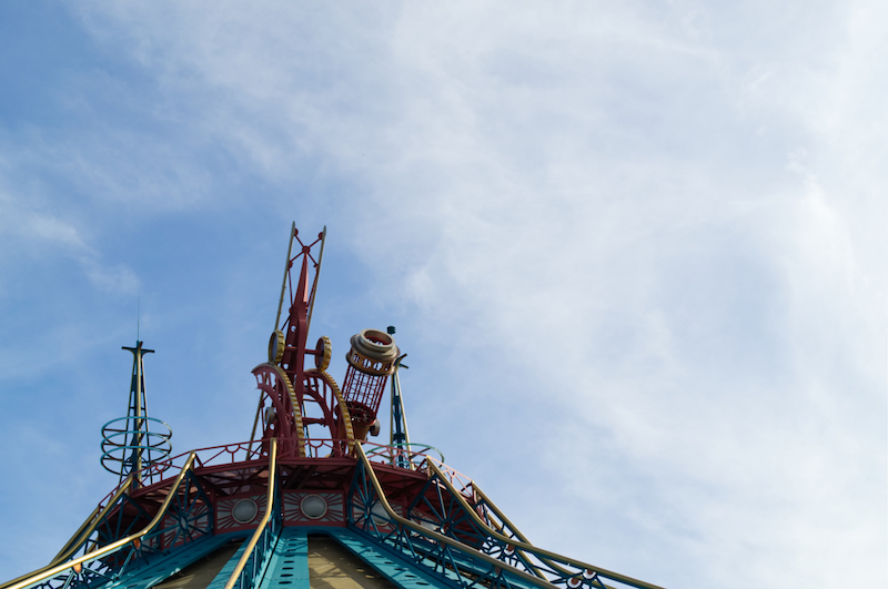 Space Mountain in Discoveryland