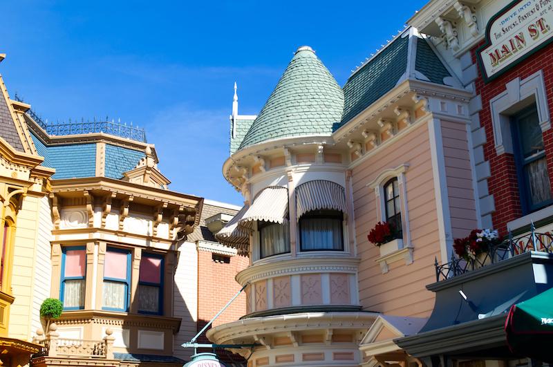 Fassaden auf der Main Street