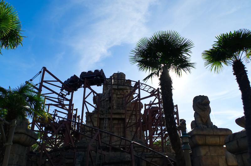 Die Indiana Jones Achterbahn im Disneyland Paris