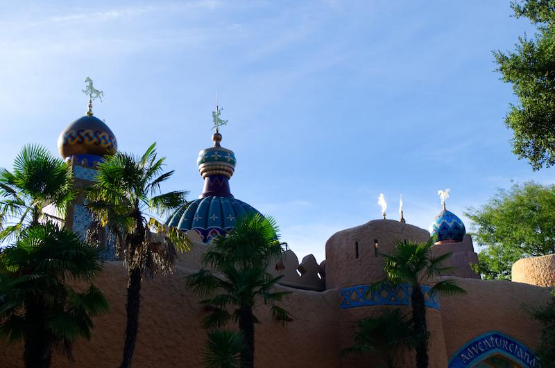 Der Basar im Adventureland von Disneyland Paris