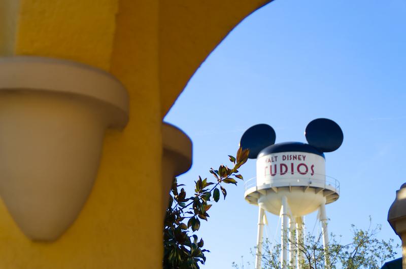Der Wasserturm der Studios im Disneyland Paris