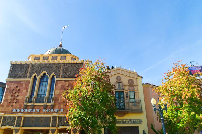 Hollywood Fassaden in den Walt Disney Studios