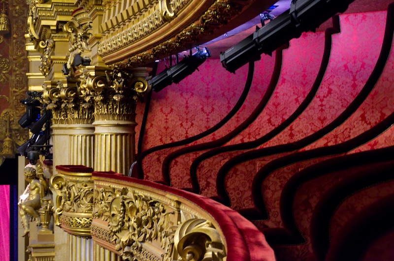 Logenplätze in der Oper