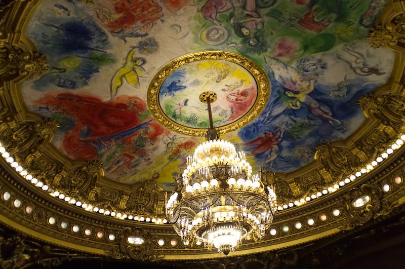 Deckengemälde von Chagall in der Oper von Paris