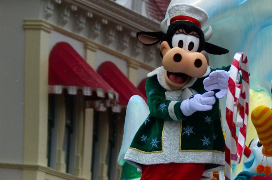 Clarabella in Disney's Weihnachtsparade