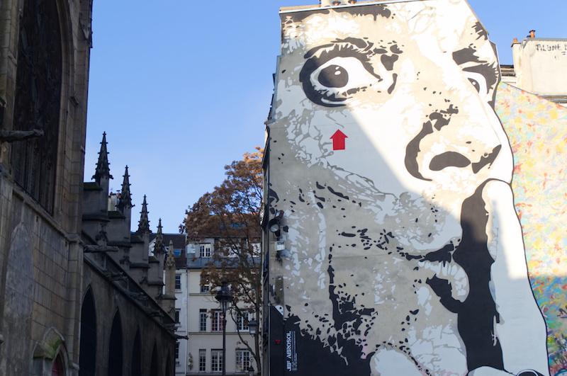 Street Art am Centre Pompidou
