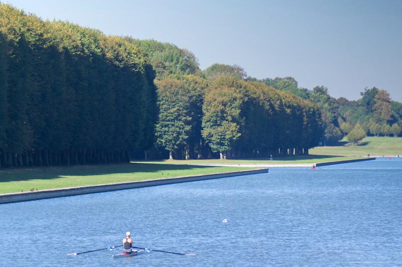 Ruderer auf dem großen Kanal