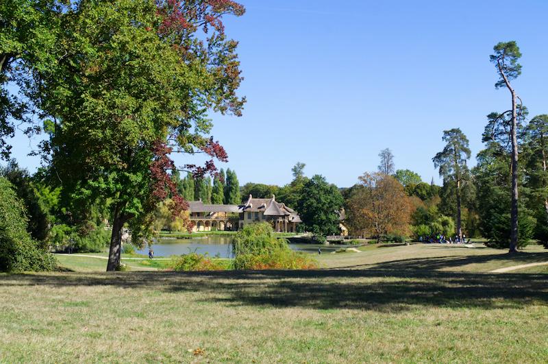 Das liebliche Dorf der französischen Königin