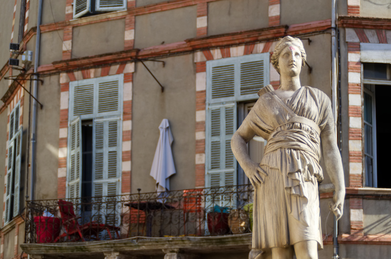 Statue der Artemis in Toulouse