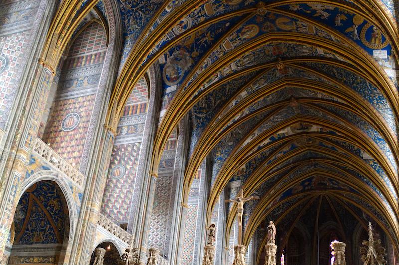 Deckengemälde in der Kathedrale von Albi