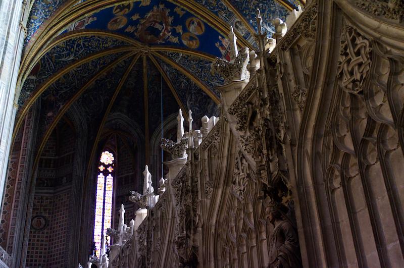 In der beeindruckenden Kathedrale von Albi