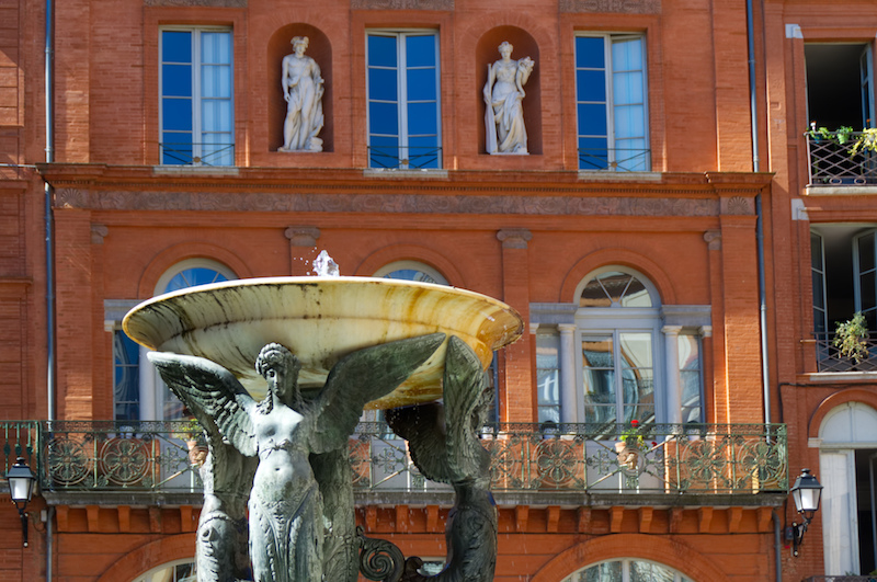 Brunnen in Toulouse
