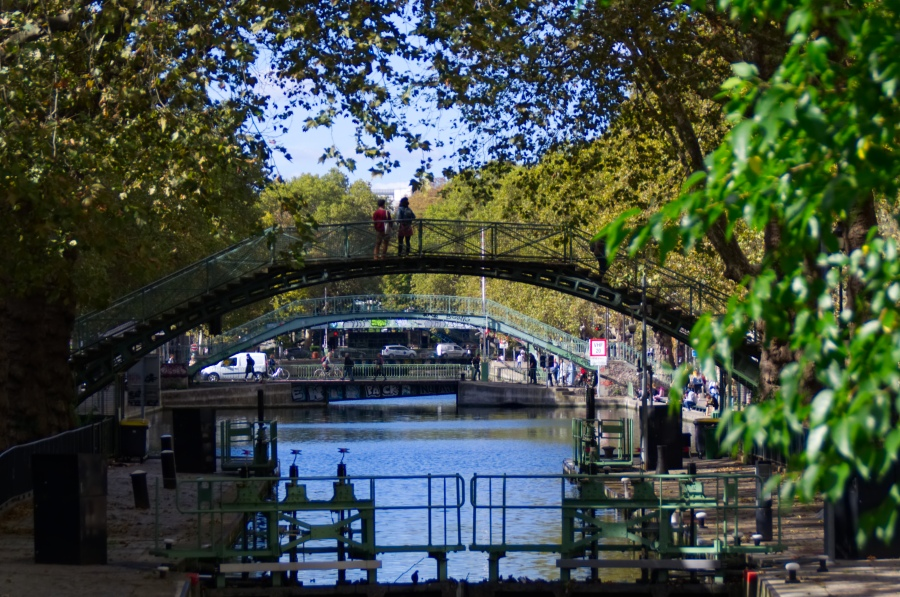 Brücken über den Canal Saint Martin