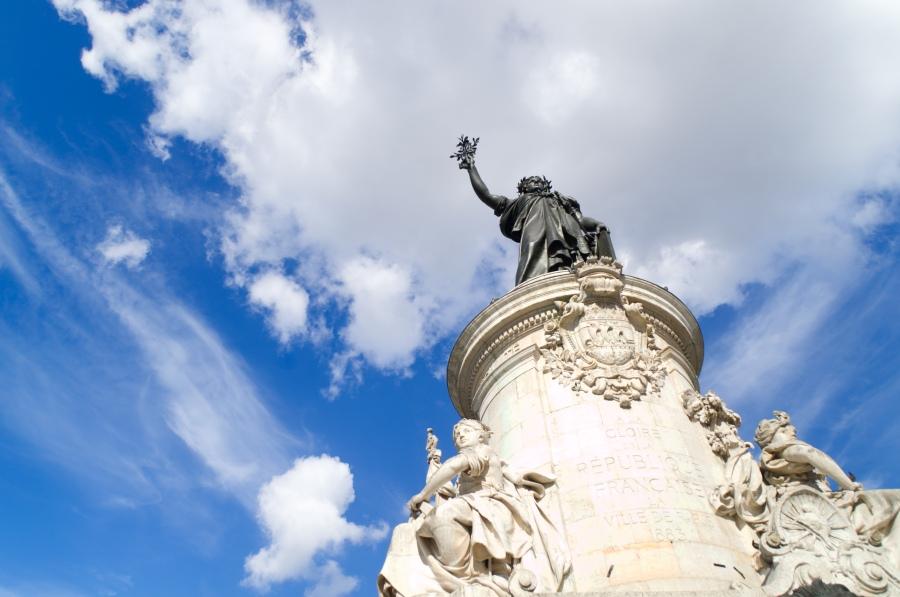 Denkmal auf dem Place de la Republique
