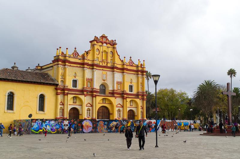 Die Kathedrale von San Cristobal