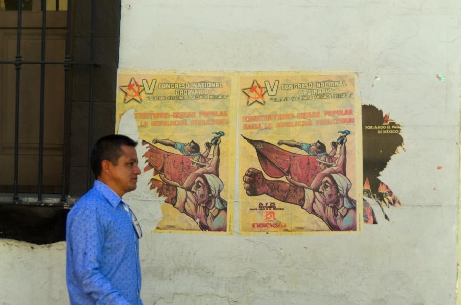 Kommunistische Wahlplakte