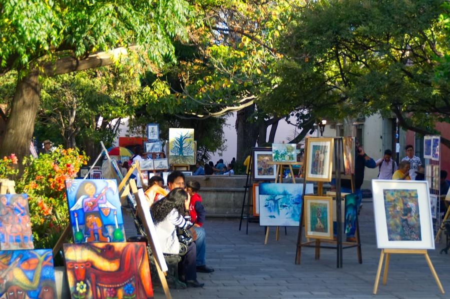 Kunstmarkt in der Altstadt