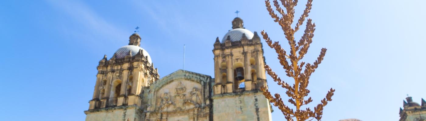 Die Templo Santo Domingo von Oaxaca
