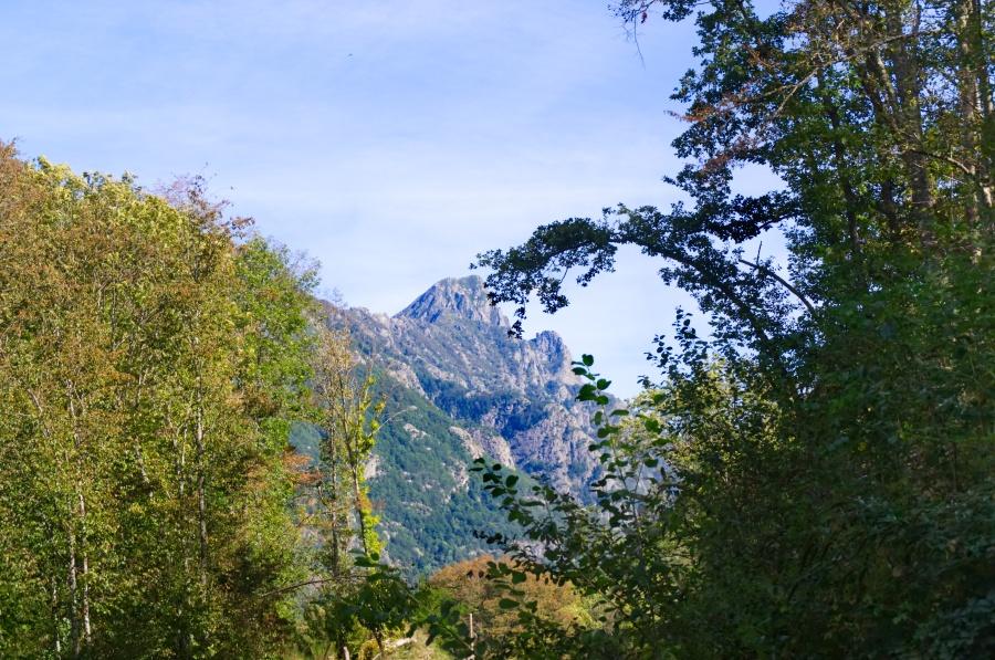 Gipfel in den Pyrenäen