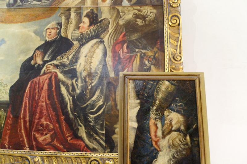 Rubens frühes Familiengemälde im Palazzo Ducale