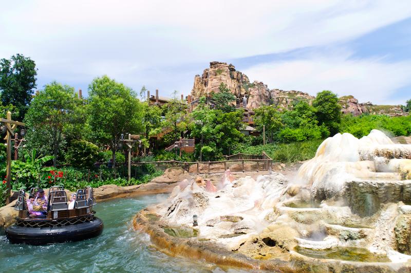 Die Roaring Rapids in Shanghai Disneyland