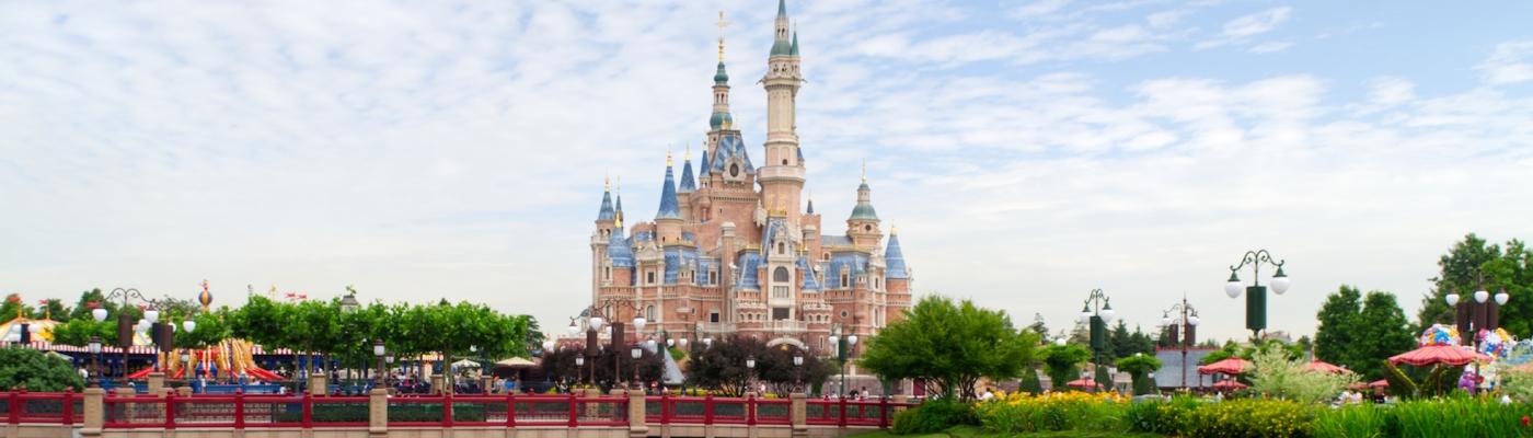 Das Schloss in Shanghai Disneyland