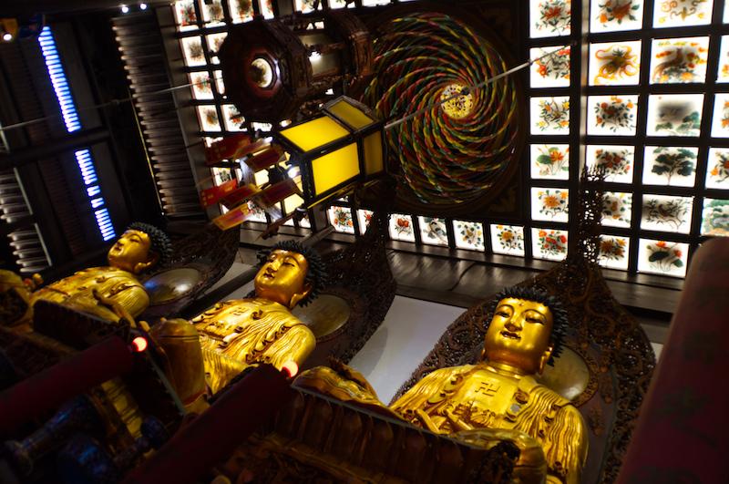 Buddhas im Jade Buddha Tempel
