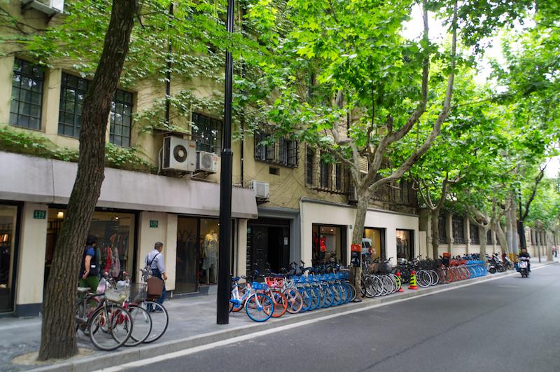 Die Straßen der Französischen Konzession
