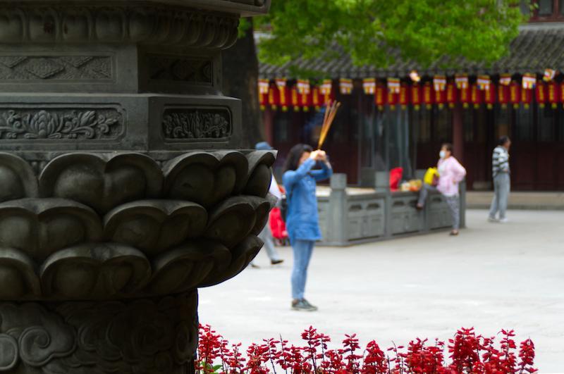 Gebet im Tempel