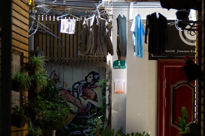 Streetart in Shanghai
