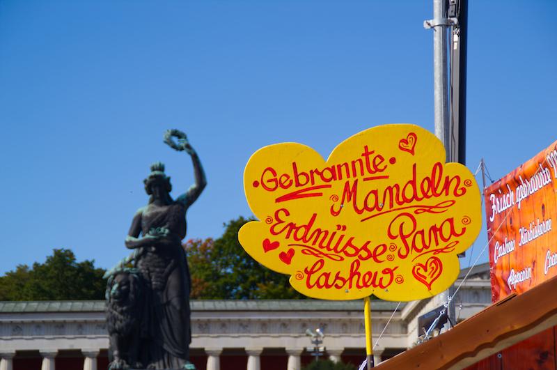 Gebrannte Mandeln und Bavaria