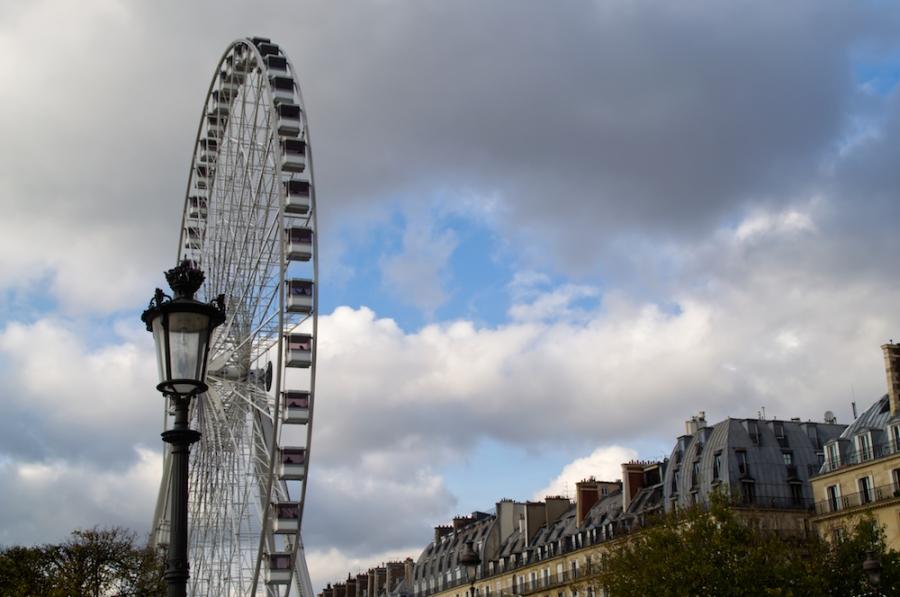 Das Riesenrad in den Tuilerien