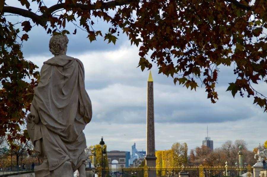 Von den Tuilerien zur Concorde und Arc de Triomphe