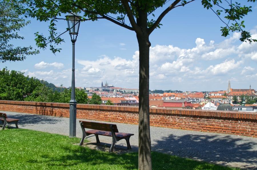 Blick von der Festung über Prag