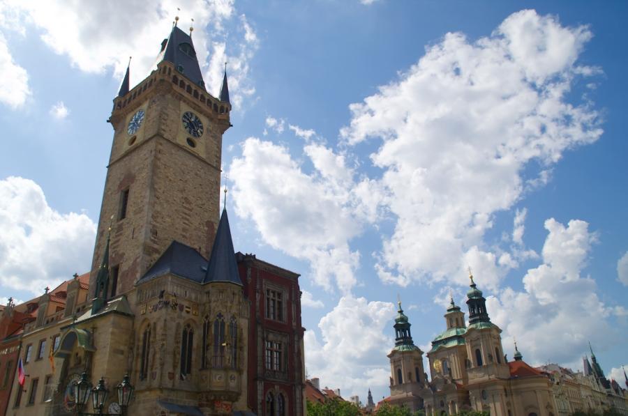 Das alte Rathaus von Prag