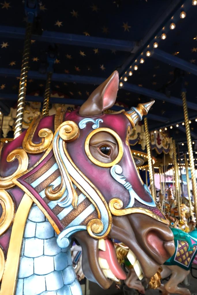 Pferdchen auf dem Karussell
