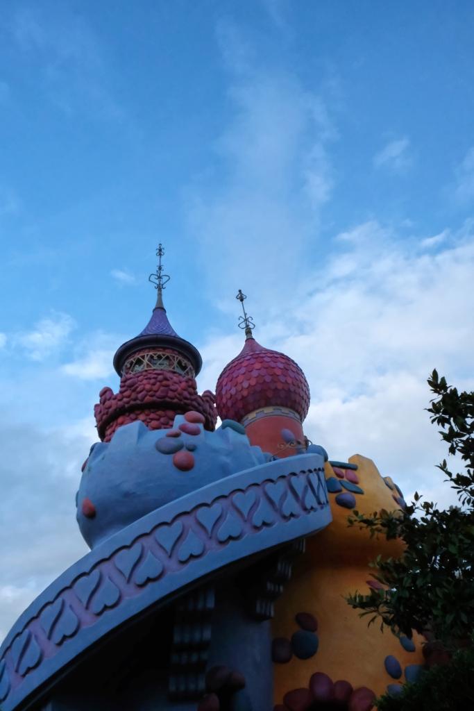 Das Schloss der Herzkönigin