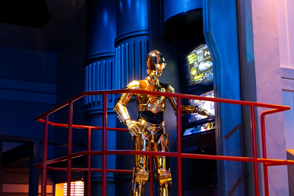 C3-PO in Star Tours