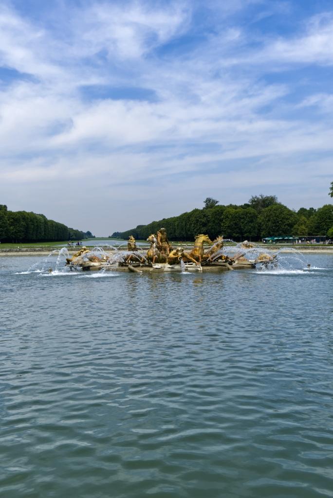 Der Apollon-Brunnen von Versailles